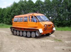 Снегоболотоход, ГАЗ-34039 «Ирбис»