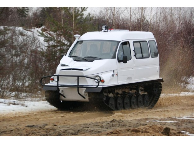 Гусеничный снегоболотоход, ГАЗ-3409 «Бобр»